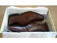 Lotus Brixworth Leather Shoe Brown Size 8