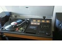 EXTREMELY RARE FULLY WORKING 70S HITACHI SDT-400 MUSIC CENTER, AMAZING QUALITY