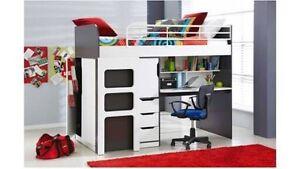 Harvey Norman kids loft desk bed Glen Waverley Monash Area Preview