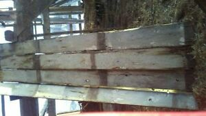 "REDUCED TO CLEAR  2"" to 3"" THICK THRESHING(FLOOR) BOARD"