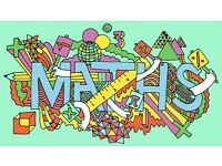 Maths Tutoring from Primary to National 5 Level