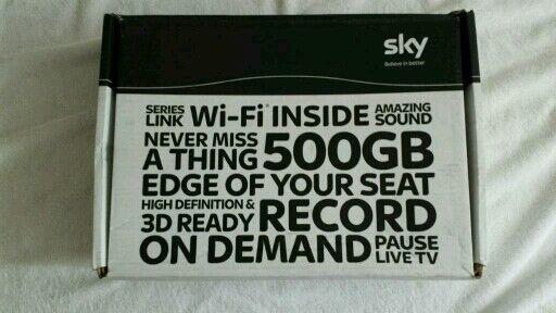 SKY+HD WI-FI SATELLITE BOX