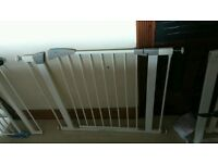 Baby gates extra wide option fittings x 2