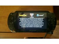 Sony PSP and 5 games