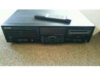 Sharp 3 CD player & minidisc recorder
