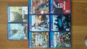 8 ps4 games for sale
