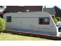 Caravan Avondale Dart 510-5 birth with awning for sale