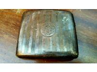 Sterling Silver Ciggerette Case