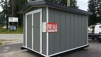 CUSTOM BUILT WOOD SHEDS SAVE ON DELIVERY!!!