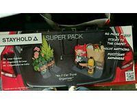 Stayhold super pack/ boot organiser