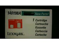 LEXMARK CARTRIDGE 140198A P/N 140198X + 30% pages