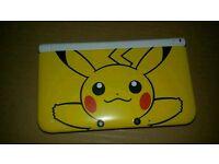 Pikachu 3ds xl pokemon edition 3ds