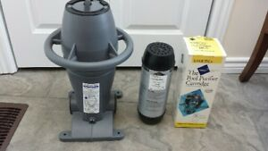 Pool filter- salt and chlorine free