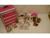 Nail kit and case