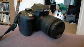 Nikon D3300 DSLR Digital camera with 18-55mm DX VR lens