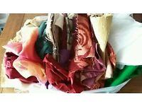 Job lot fabric