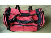 Red holdall / sports / school bag virtually new
