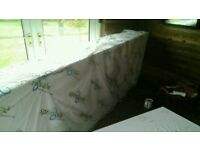 "Polystyrene sheets 60mm and 22mm thickness, 3'6""wide, 10'long"
