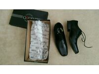 Men smart leather shoes fashion footwear