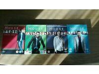 HOUSE DVD box set series 3-6