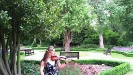 Violinist, ask for your favourite music!
