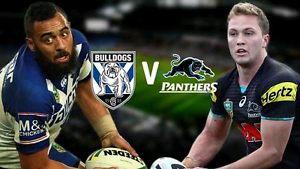 Bulldogs vs Penrith Panthers - 2 adult tickets $12.50 each Sydney City Inner Sydney Preview