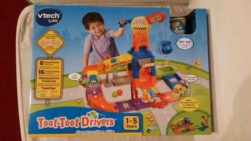 VTECH BABY Toot-Toot Drivers Construction Site Learn Play Fun Interactive Set