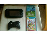 Wii U (32gb) + Breath of the wild + Mario 3D world + Extra Controller