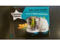 Tommee tippee baby food blender £10