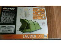 Vango Lauder 500 5 birth tent.