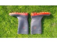 Dunlop Warwick safety wellington boots size 9