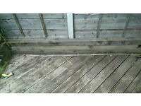 4inch x4inch wood lengths X 3 Lengths
