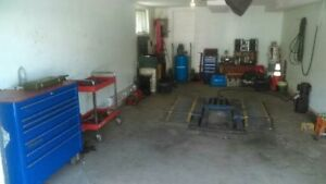 mécanicien avec expérience et garage a 30hrs