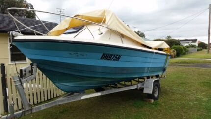 GREAT BOAT WITH MOTOR Killarney Vale Wyong Area Preview