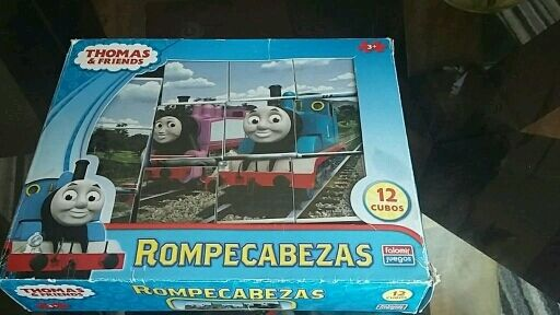 Thomas and friends jigsaw blocks.