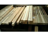 Timber Staircase Spindles - odds and ends