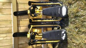 Two GT Racer Sleds