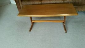 Vintage teak good quality coffee table