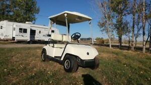 NEW BATTERIES in this nice GOLF CART!