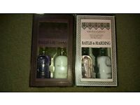 Baylis & Harding body wash and lotion set x2