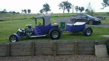 FORD 1923 T BUCKET HOT ROD FULL NSW REGO, & ENGINERD , YES DRIVE