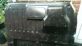 Bulkhead for mk7 ford transit, no screws, bit scratched and dusty but still good.