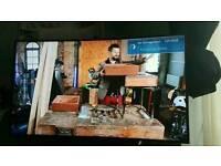 Samsung 55inch 4k curved smart tv