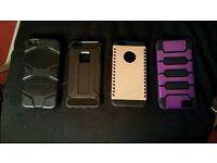 Iphone 6 plus case (×4) new