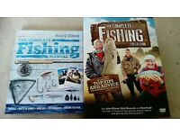 Fishing book and dvd set