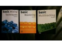 Basic Sound learning books by Paul White
