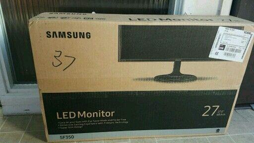 """27"""" led monitor"""