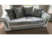 CHEAPEST PRICE LUXURY SOFA + Free FootStool 3+2 SEATER C0RNER SUIT 928