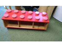 Genuine Lego storage unit - wood