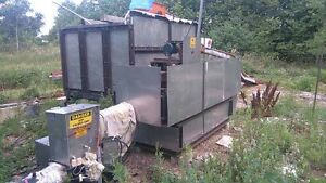 Bio-Blast Furnace with Wood Chip Auger